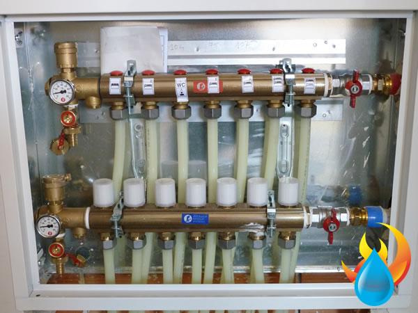 J c bernardos reformas instalaciones fontaner a y for Caldera para suelo radiante